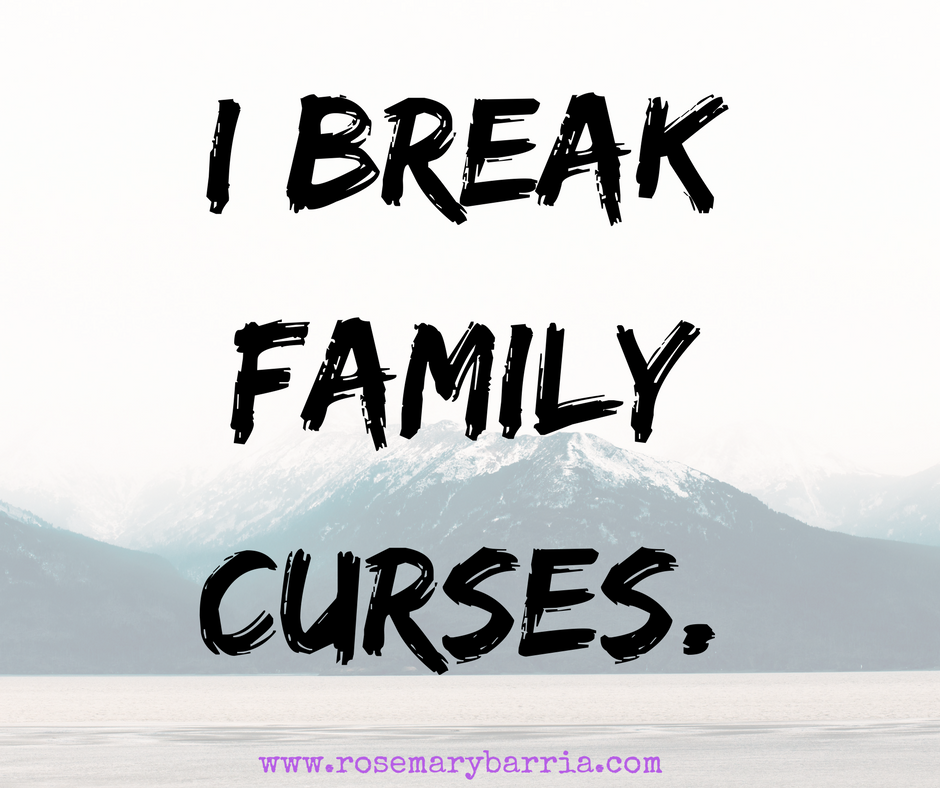 I Break Family Curses