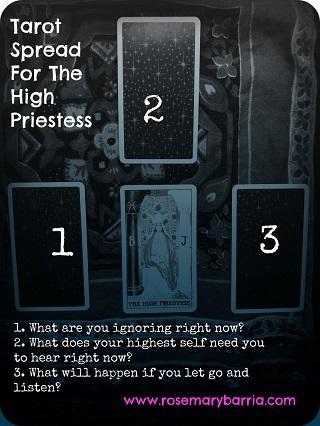 Tarot Spread for The High Priestess