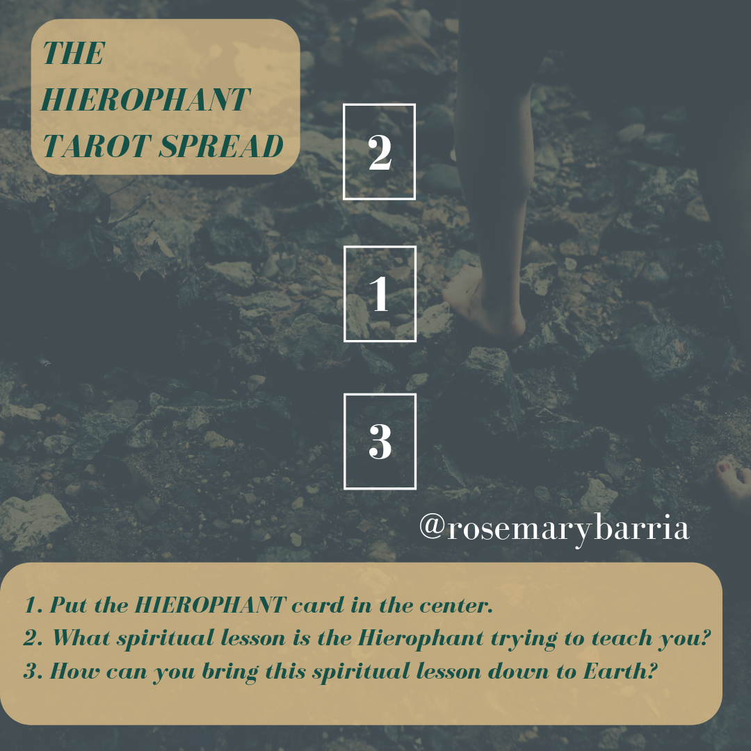 Intuitive Self-Care with Tarot: The Hierophant — ROSEMARY BARRIA