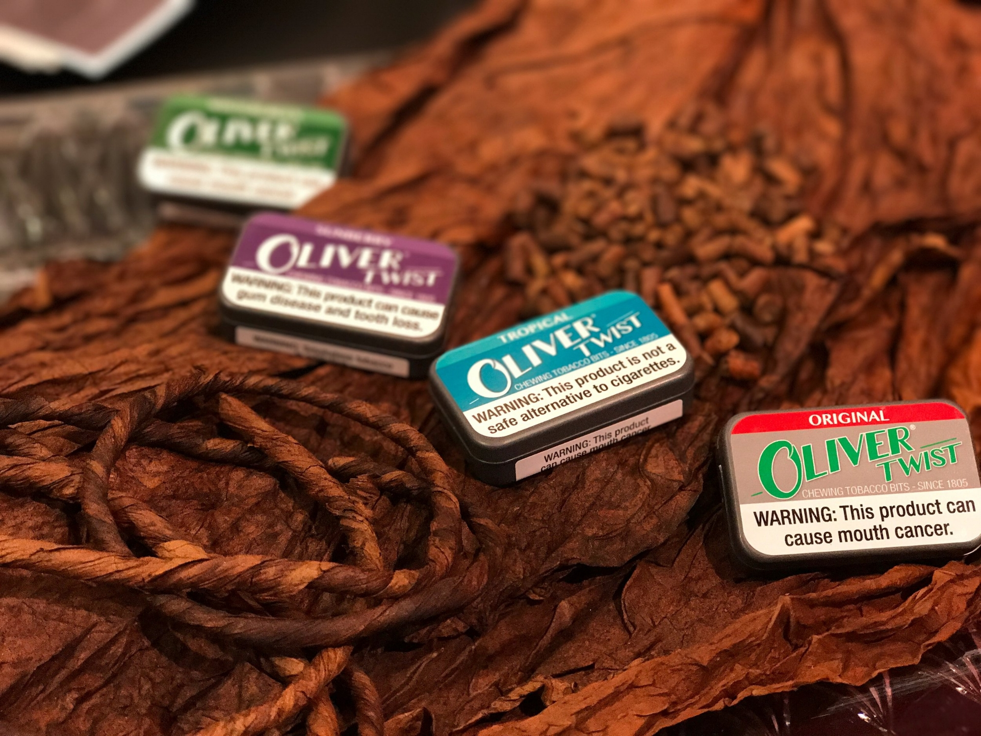 Oliver Twist Tobacco Bits - Oliver Twist are small, discreet tobacco bits (mini-rolls) in a variety of flavors. They have a large natural nicotine content and is a good product to use where smoking is not permitted.