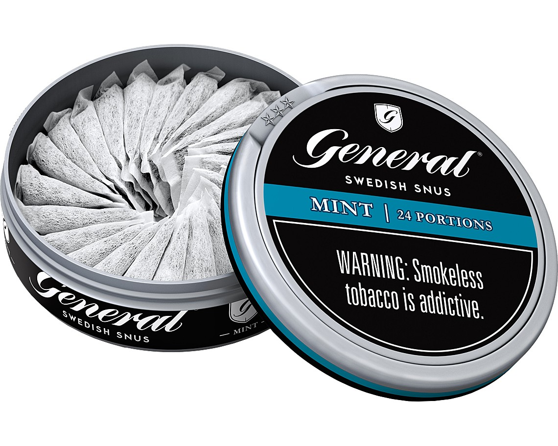 General Snus - Swedish snus is smoke-free tobacco that's been used in Sweden for over 200 years. Unlike most American smokeless tobacco, Swedish snus is pasteurized to deliver consistent quality and served chilled to maintain its freshness and taste.