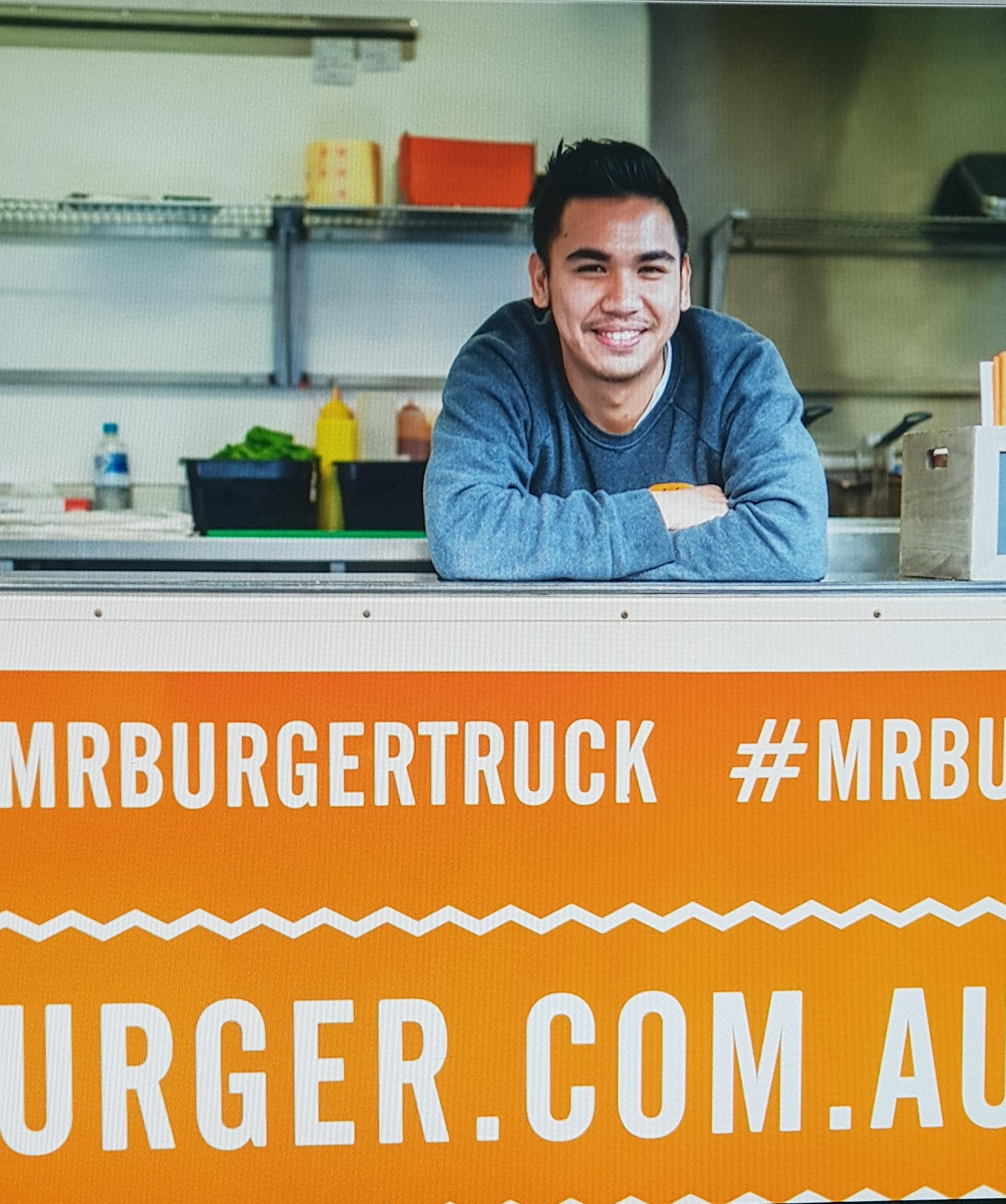 Ben - Chief Burger Flipper at Mr Burger