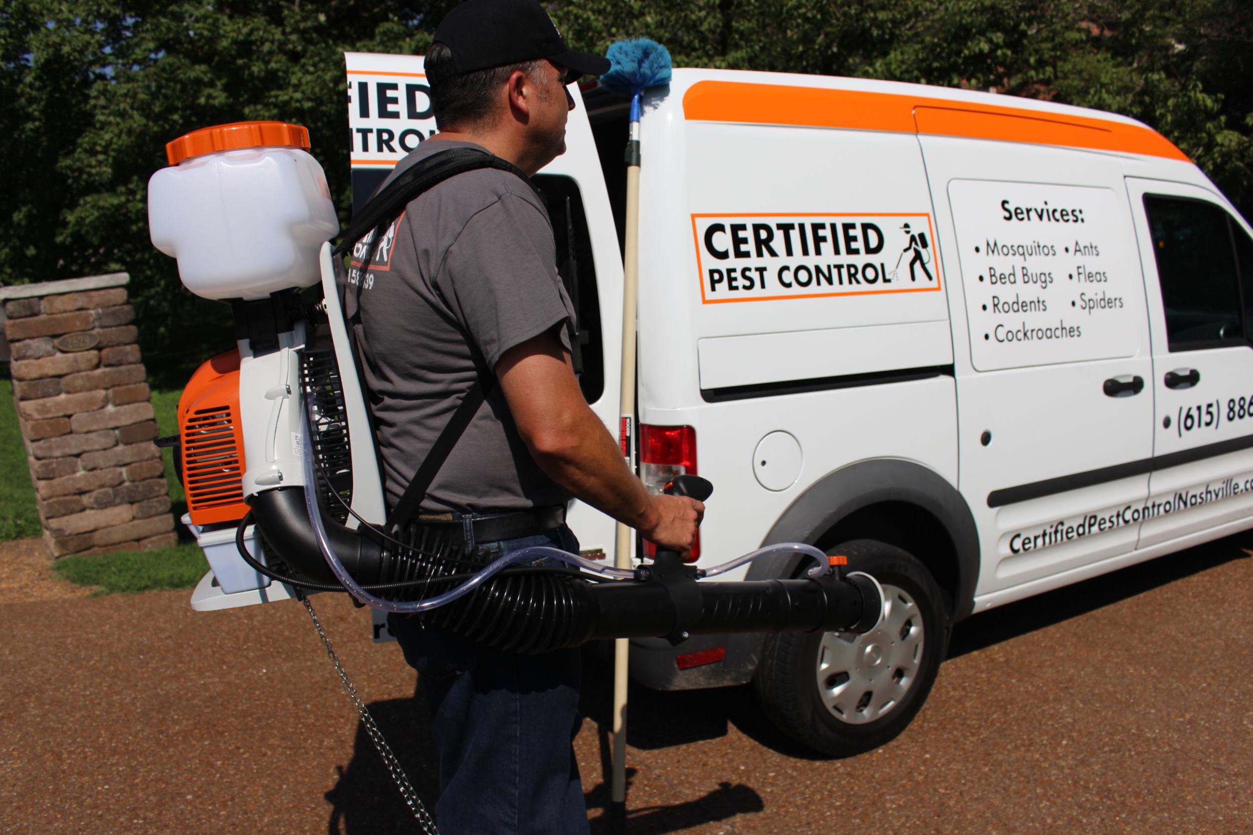 Pest Control Van