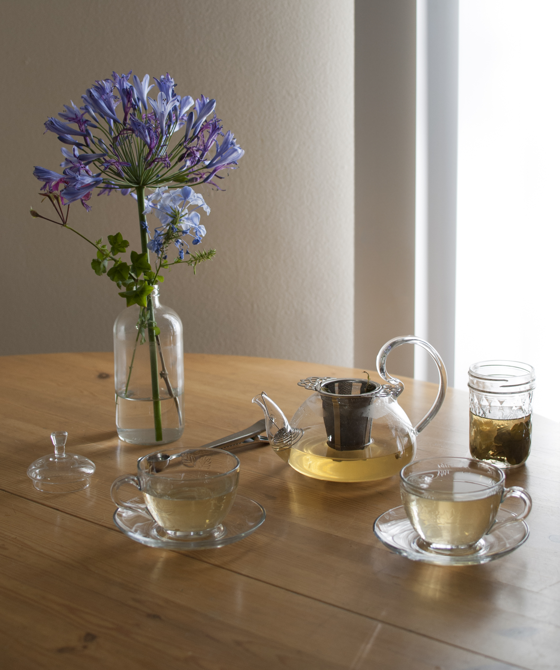 linden and lime kaffir tea