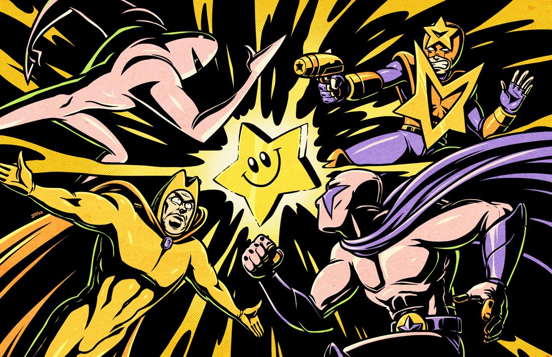 Battle of the Starmen for the Starman