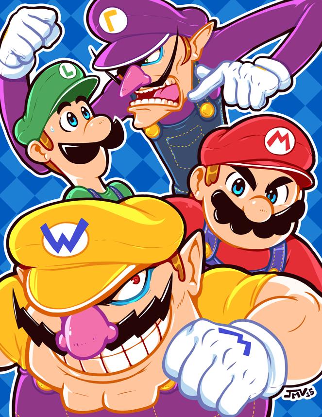 The Mario Bros. and the Mario Clones