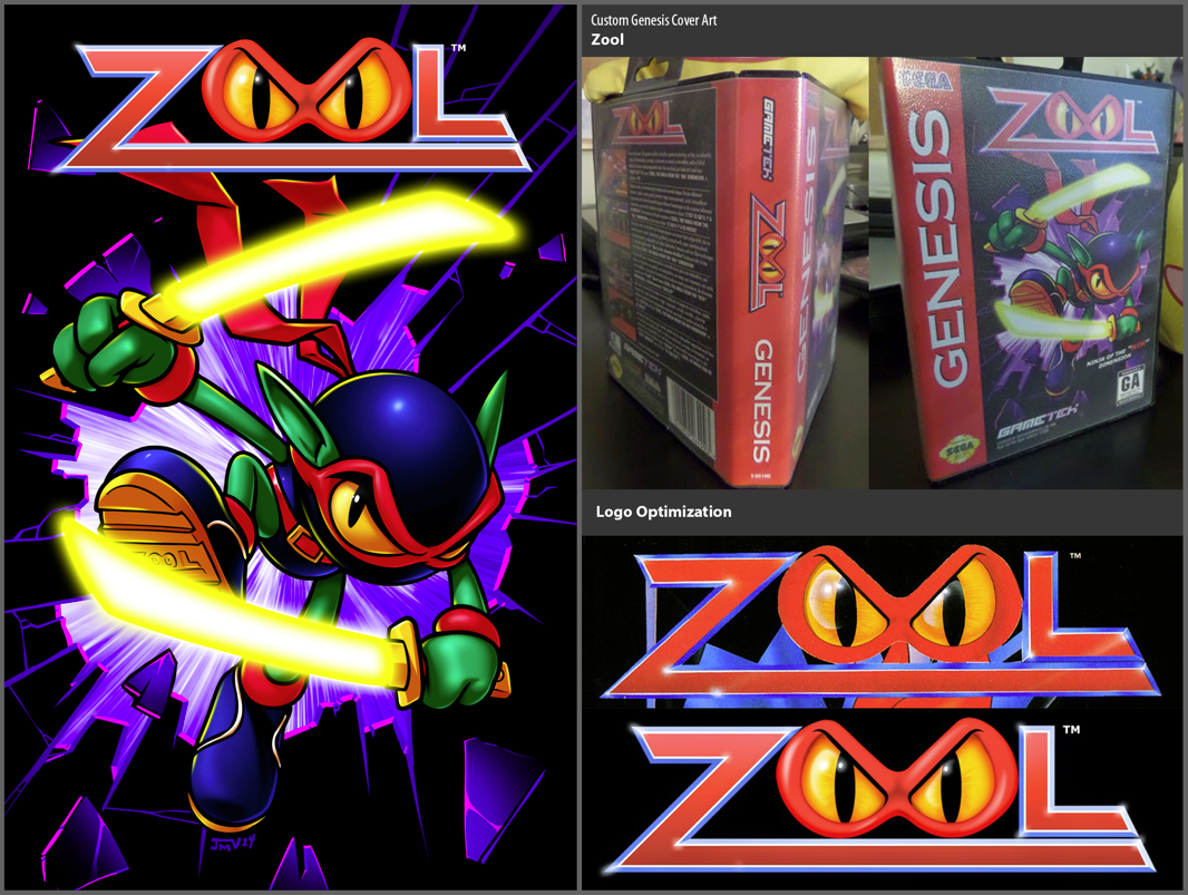 Zool Custom Genesis Cover