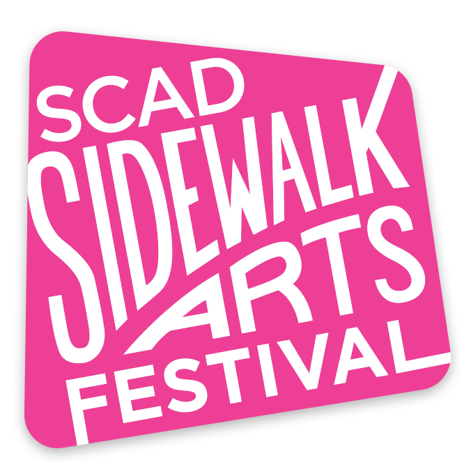 - Watch as brilliant SCAD artists bring a splash of color to scenic Forsyth Park at the 38th annual Sidewalk Arts Festival. SCAD students, alumni and high school students create colorful chalk masterpieces and compete for coveted prizes in this tradition nearly as old as the university itself.Share your experience and follow the action with #SCADCHALK.