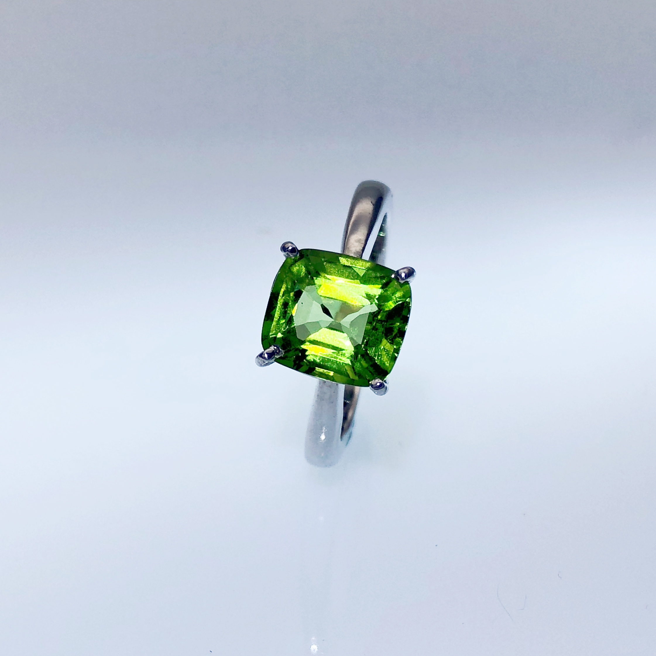 Peridot - Peridot gemstones have been found in a large number of locations, including Brazil, Pakistan, Australia, Ireland, Russia, Sri Lanka, USA and Egypt.This is the gem quality stone of Forsterite Olivine, and it is a beautiful transparent, green colored stone. Hence its ancient name Olivine, although the color may range from a light yellow green or lime green color through to the darker olive green shade, including a brownish green.Taking into consideration the amount of time that this stone has been in use, it has only been known by this name for around two hundred years.The meaning of the name Peridot comes from the French word 'peritot' which is believed to come from an Arabic word 'faridat', which means precious stone.It has also been called names such as 'Peles tears'.Source: www.healing-crystals-for-you.com