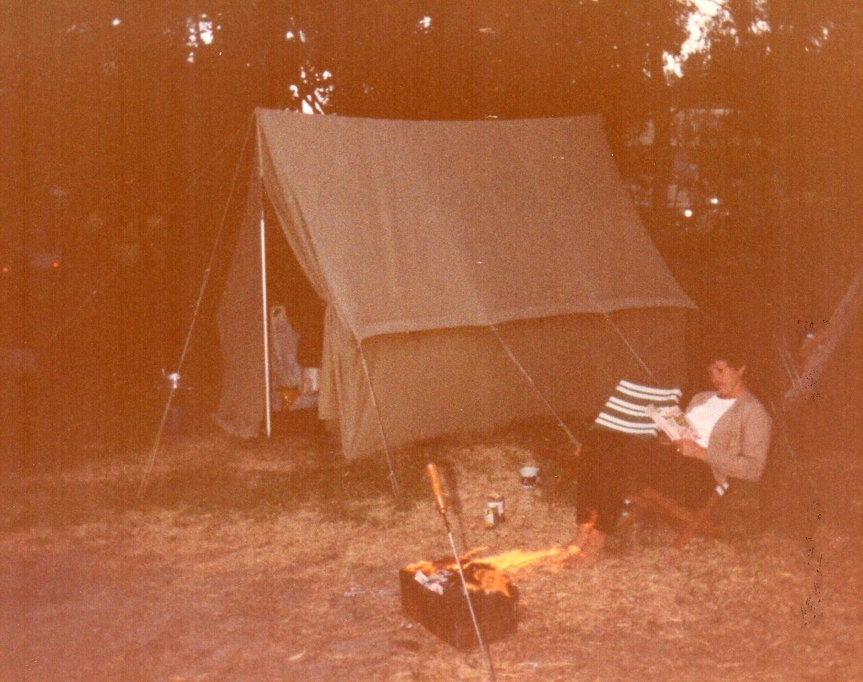Camping at Plettenberg Bay -