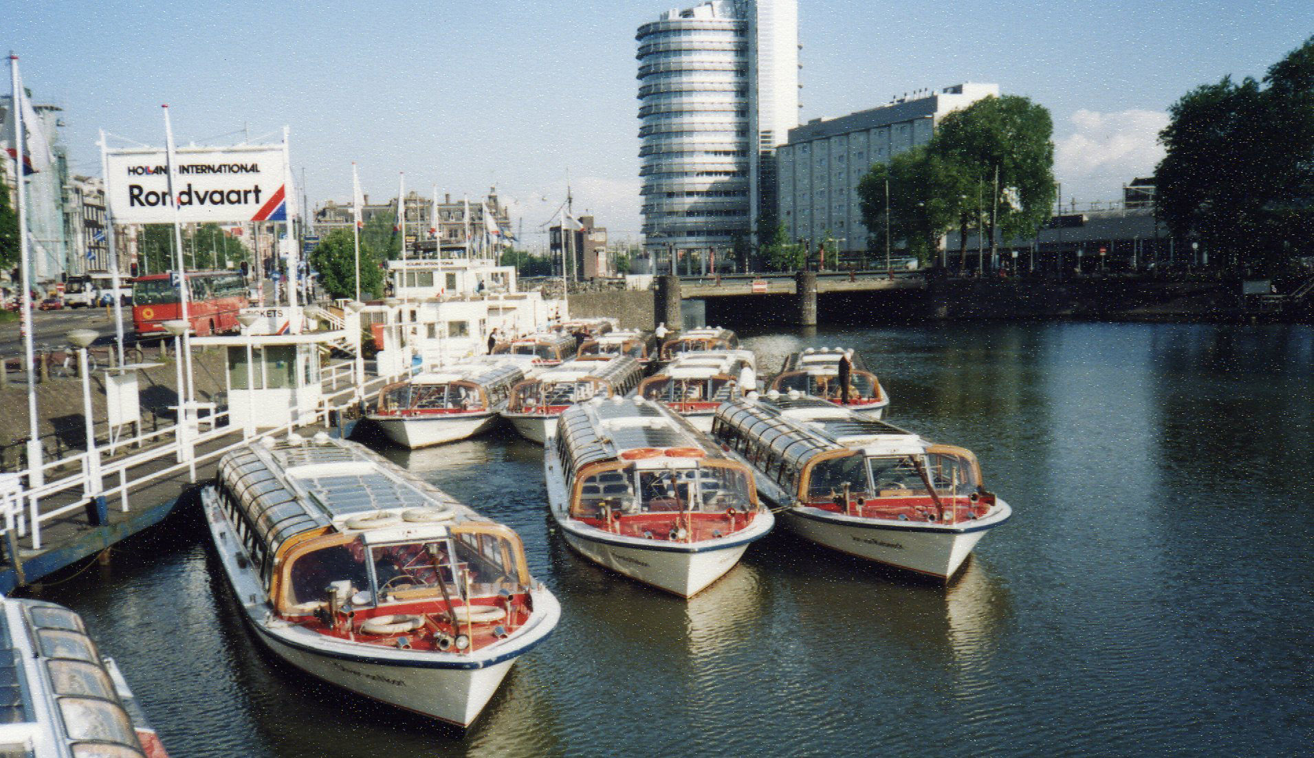 Canal boats -