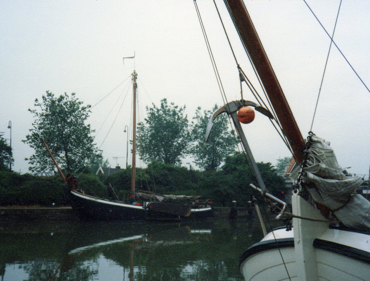 Traditional Dutch boat -
