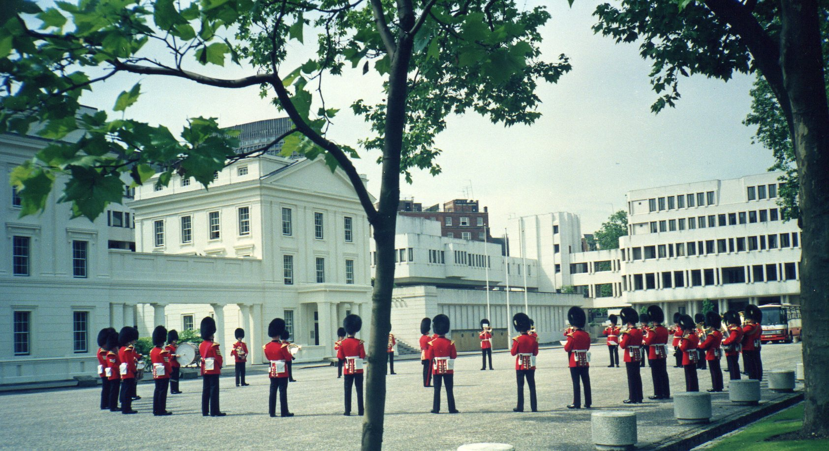 Dress rehearsal - sidelines -
