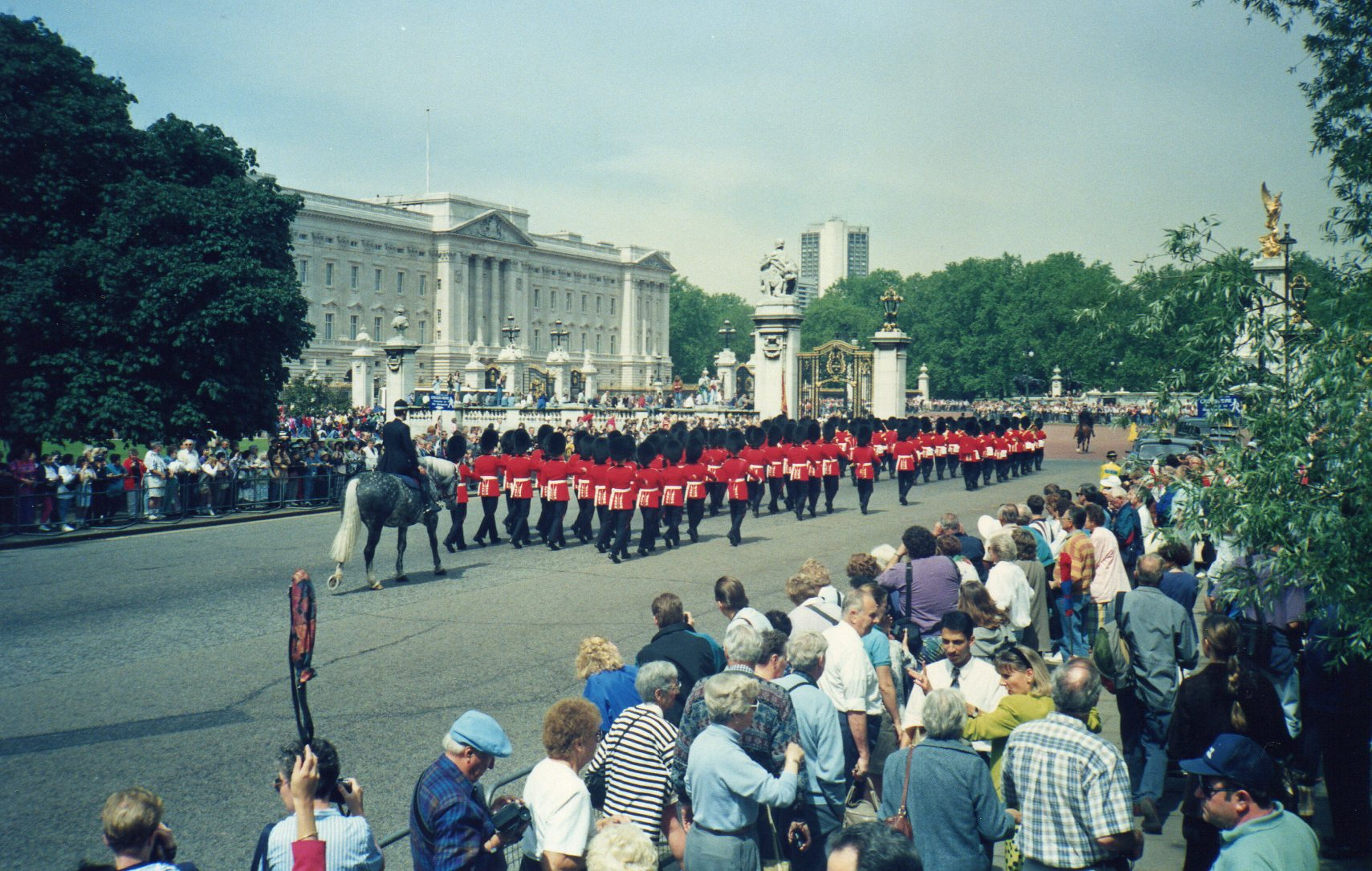 Marching - changing of the guards -