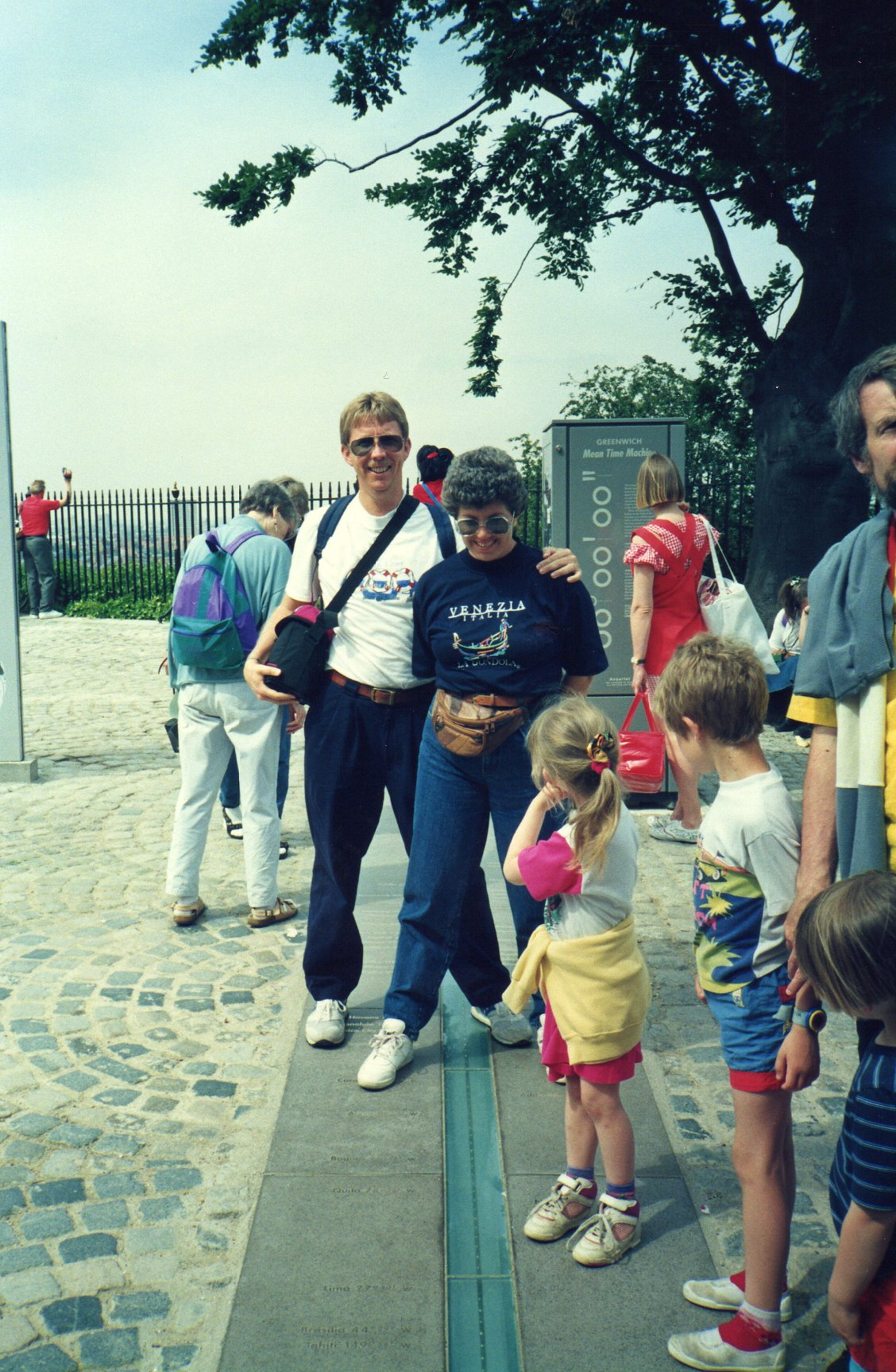 Standing on two hemispheres -