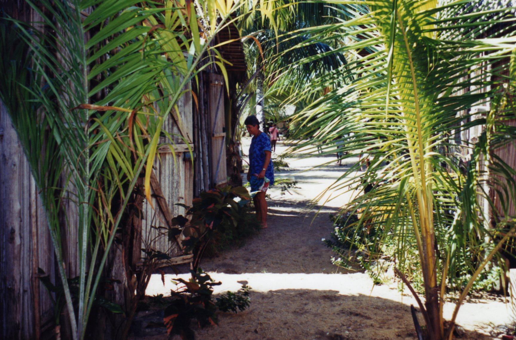 Outside our accommodation Ampangorina Nosy Komba
