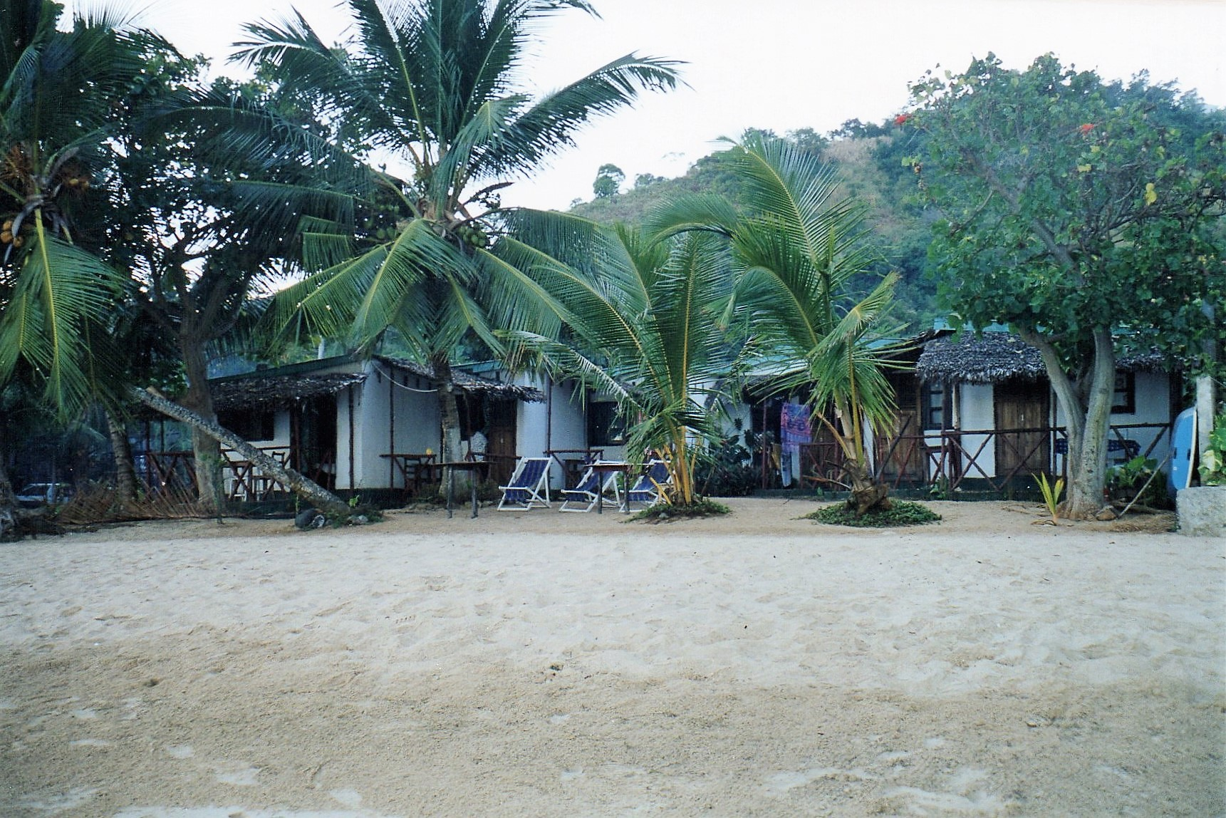 Our accommodation looks luxuriously tropical
