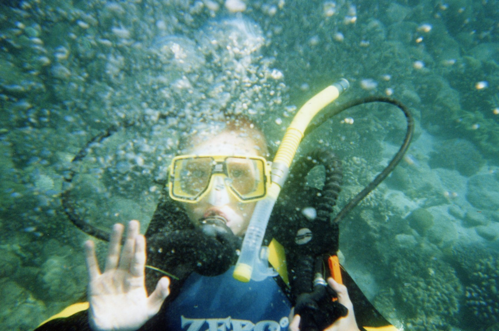 The underwater talker