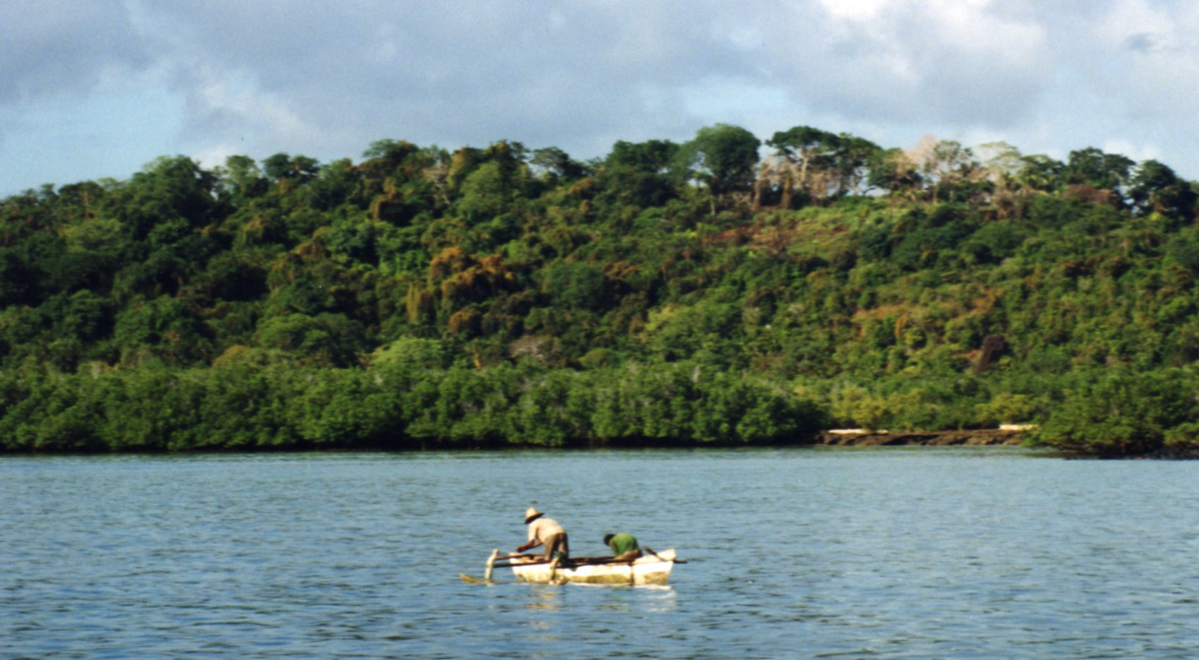 Fishermen in the Comoros