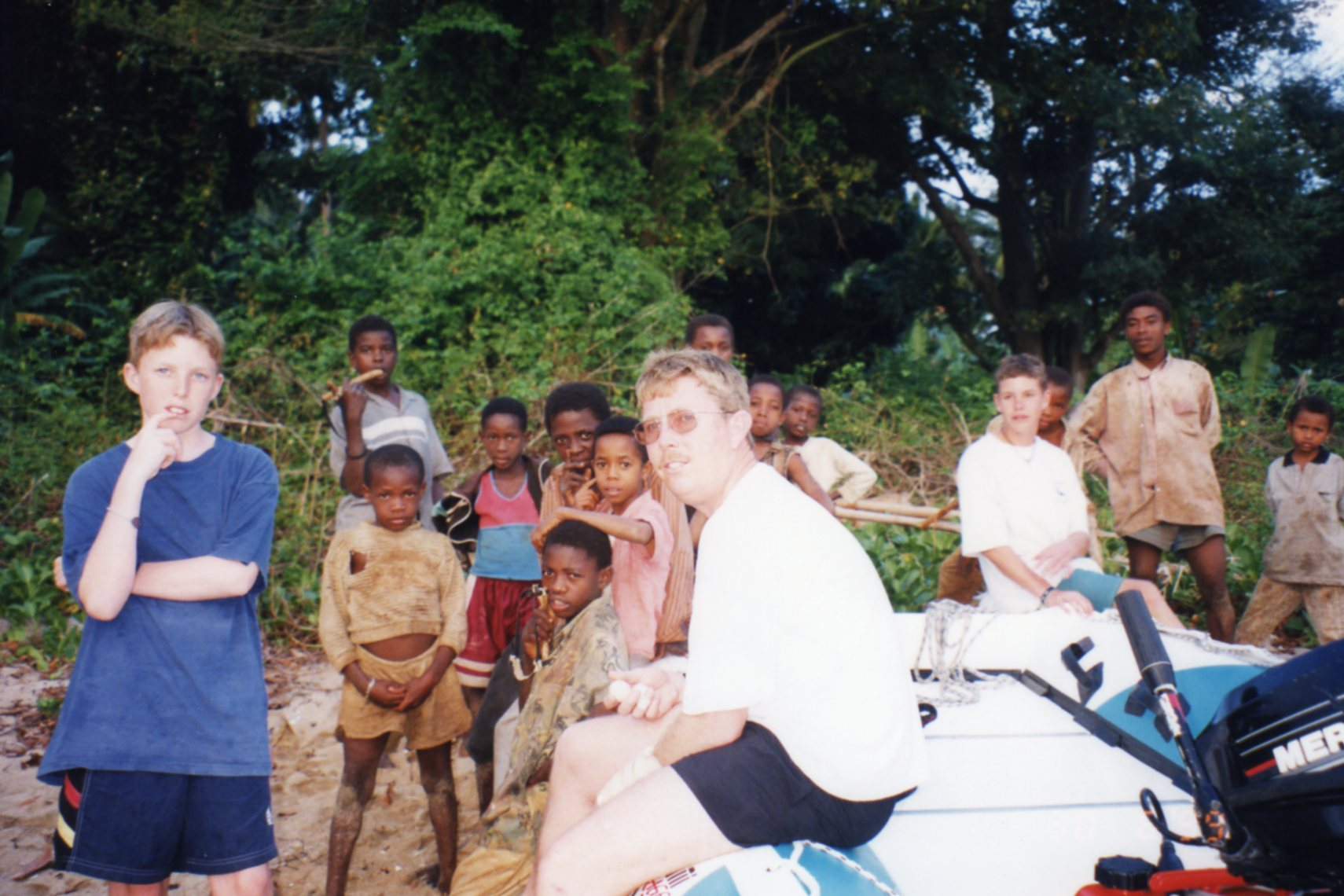 Welcoming committee, Moheli