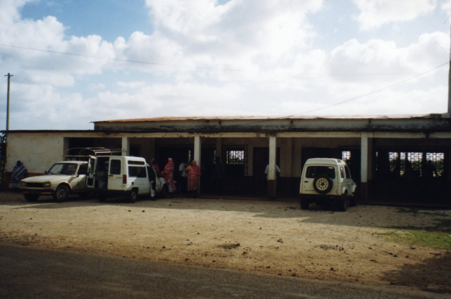 Fomboni Airport from the front - 1999