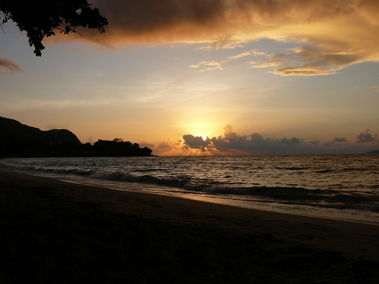 Sunset and batch watching