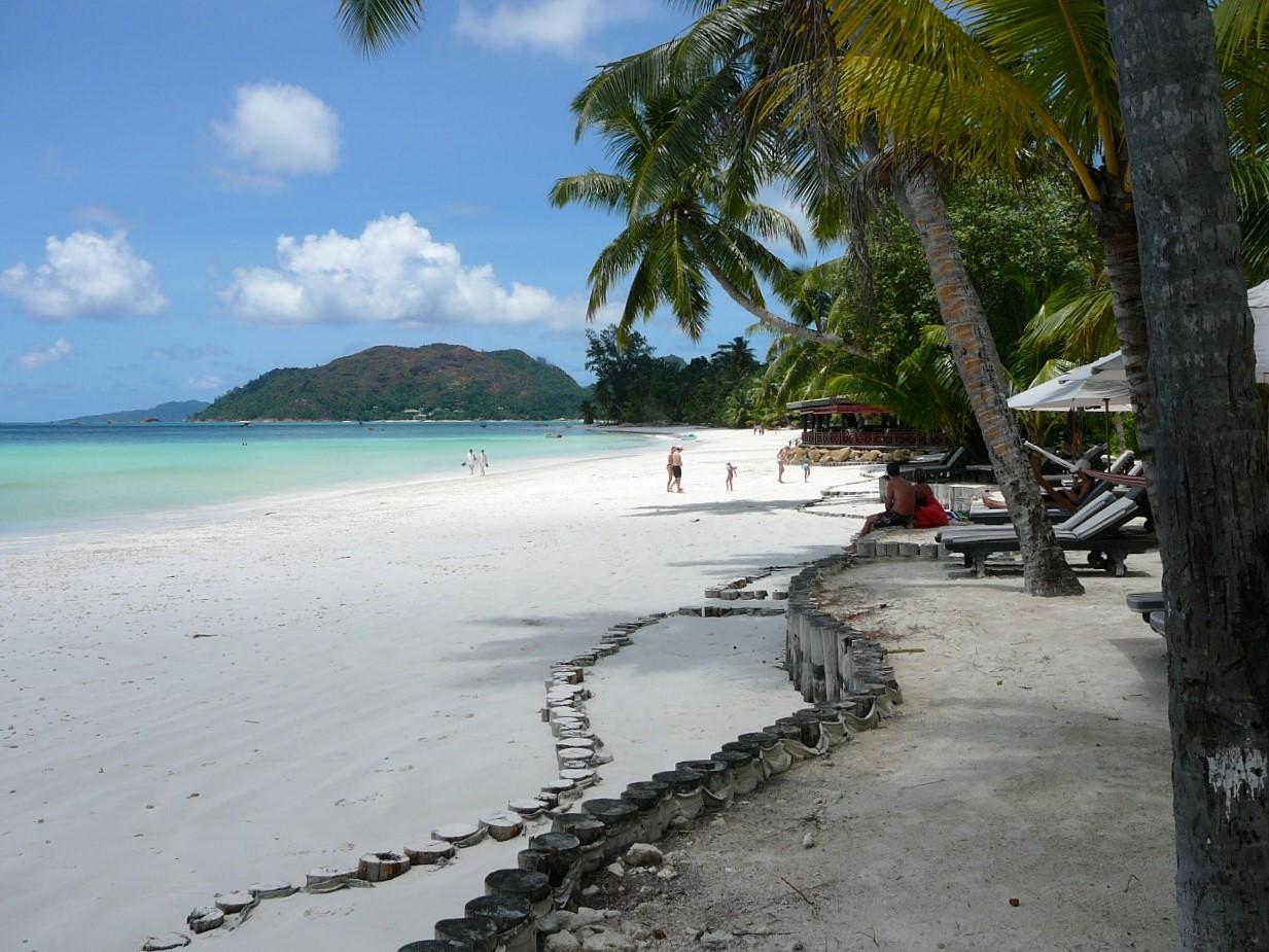 Beach Paradise Sun Praslin