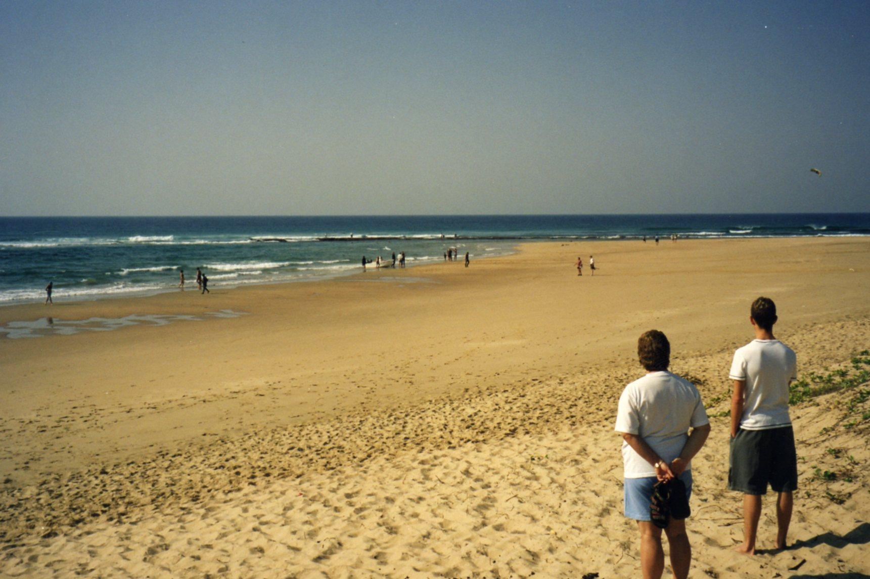 Beach at Ponta Malongane