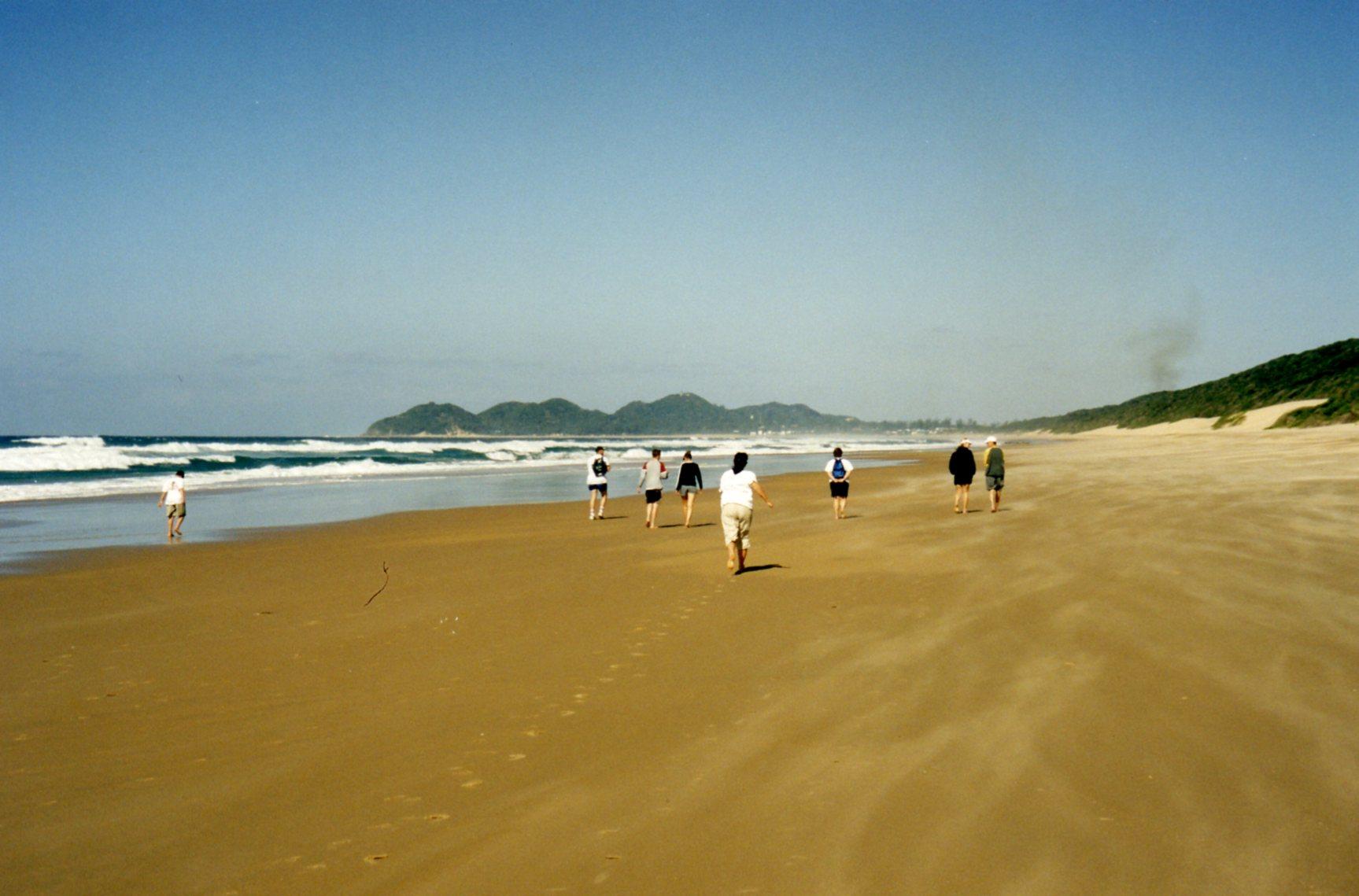 Long walk to Ponta do Ouro