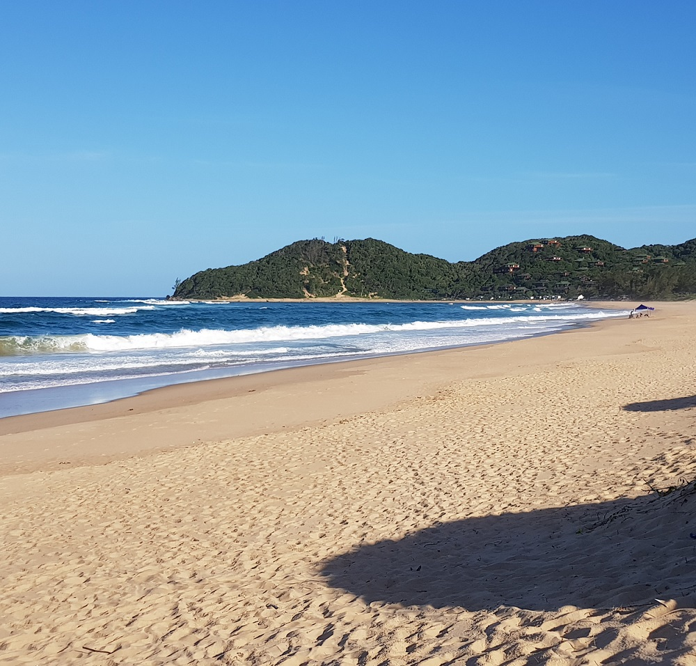 Ponta do Ouro bay