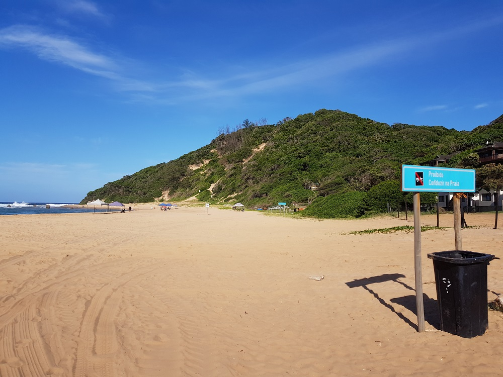 Beach at Ponta do Ouro