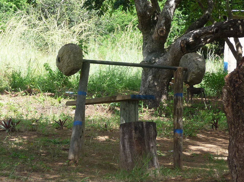 Home gym takes on another meaning in Mozambique