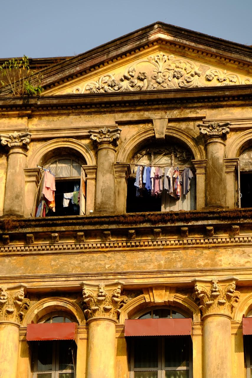 Yangon, Myanmar Colonial building - Gillian Mclaren