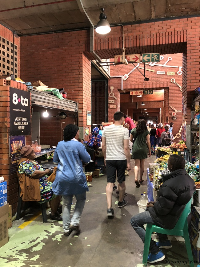 Vendors at Bree Street taxi rank.JPG