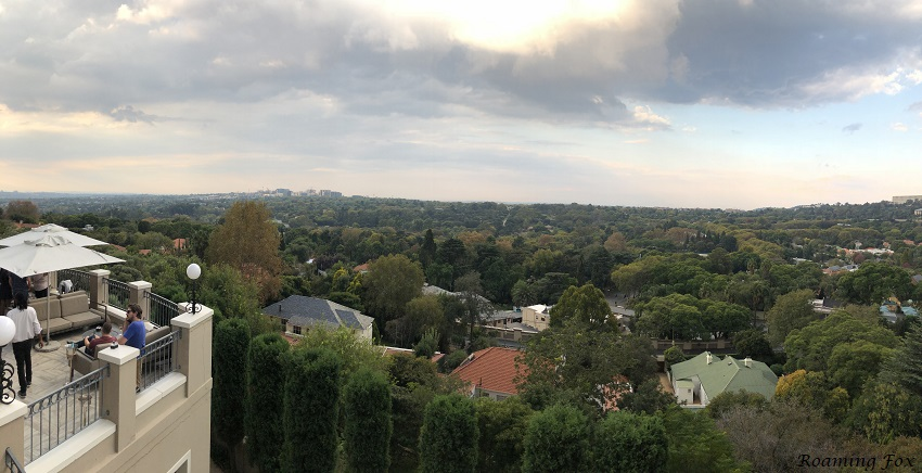 View from Westcliff Four Seasons hotel