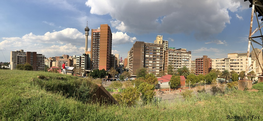 Panoramic view of Hillbrow from Constitution Hill