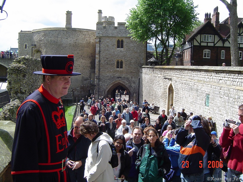 Tour through the Tower of London