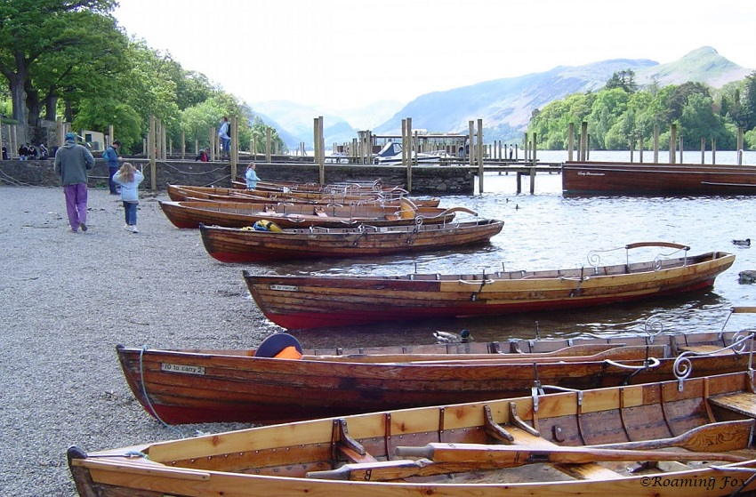 Wooden boats Lake District