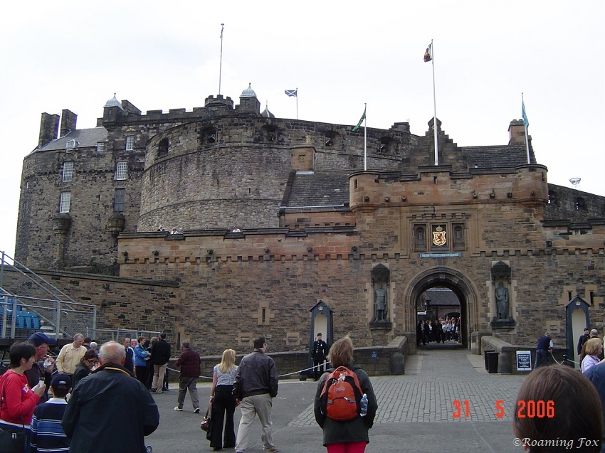 Entrance to Edinburgh Castle