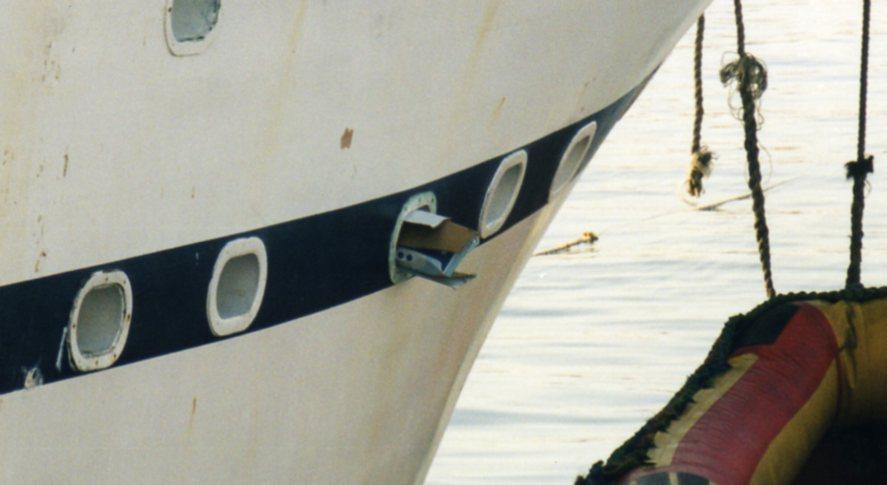 Closeup of cardboard scoop -