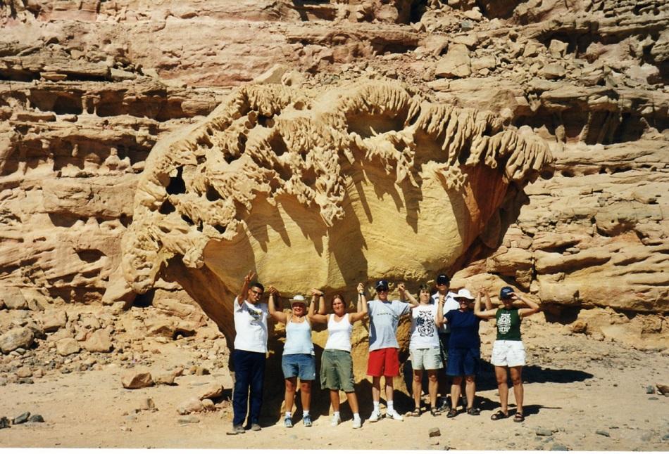 Mushroom rock Sinai