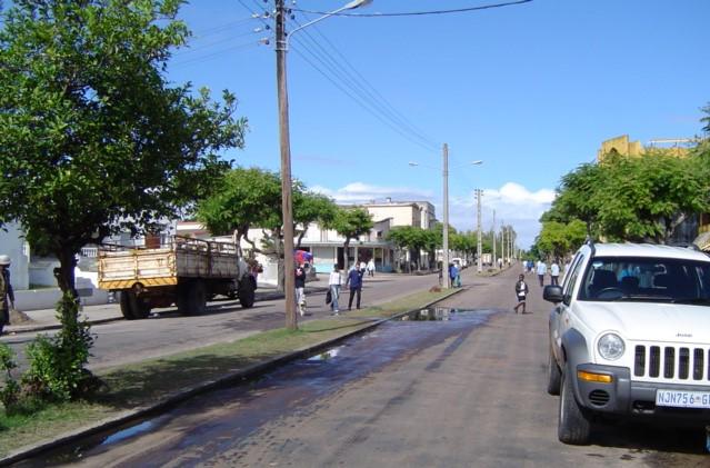 Streets of Inhambane
