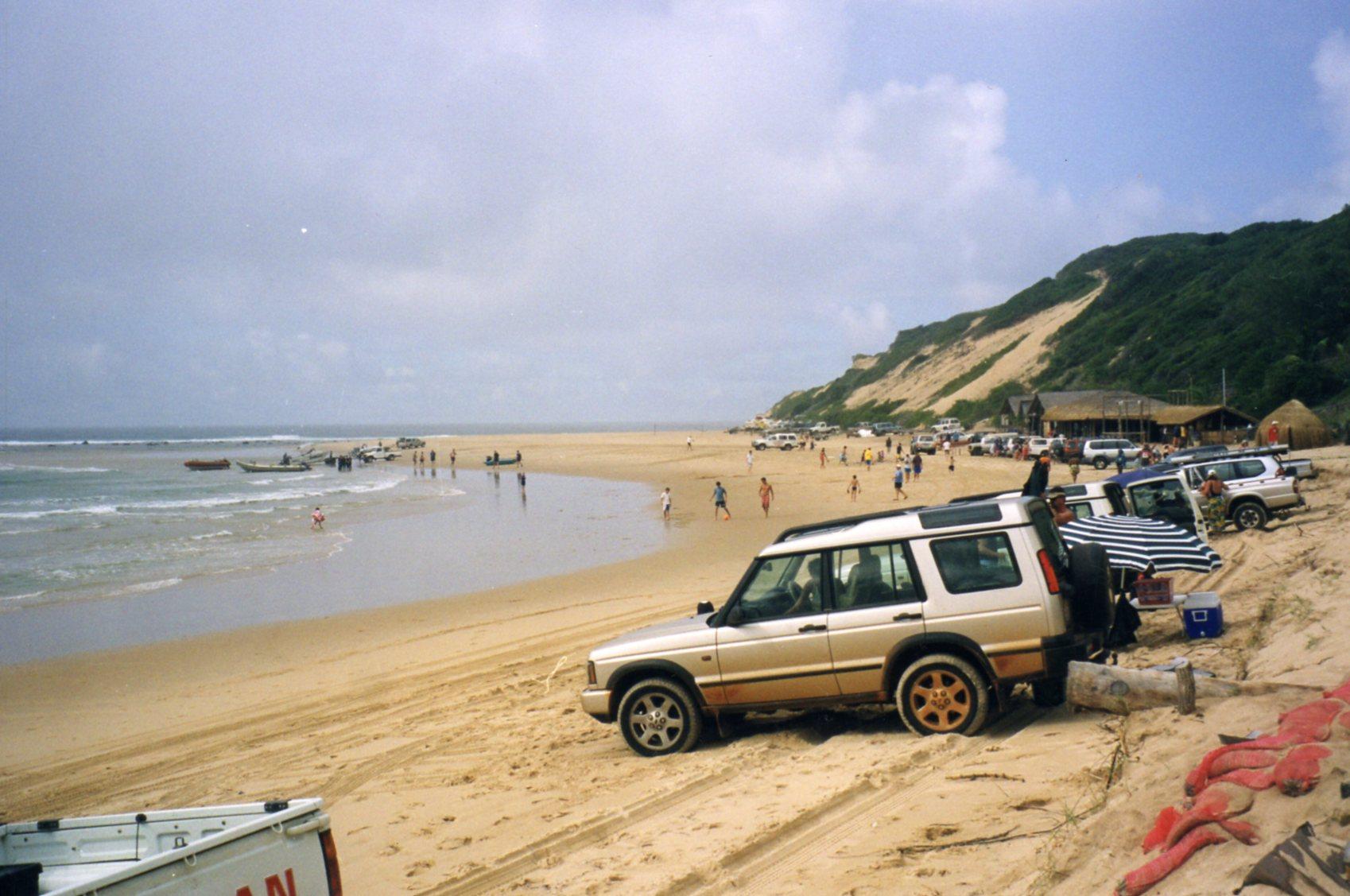 Beach at Guinjata