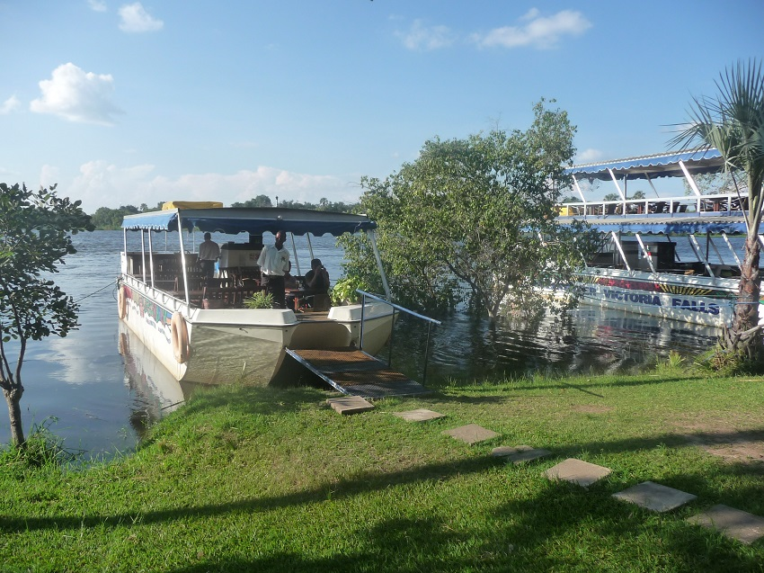 Zambezi River Sundowner Boat cruise