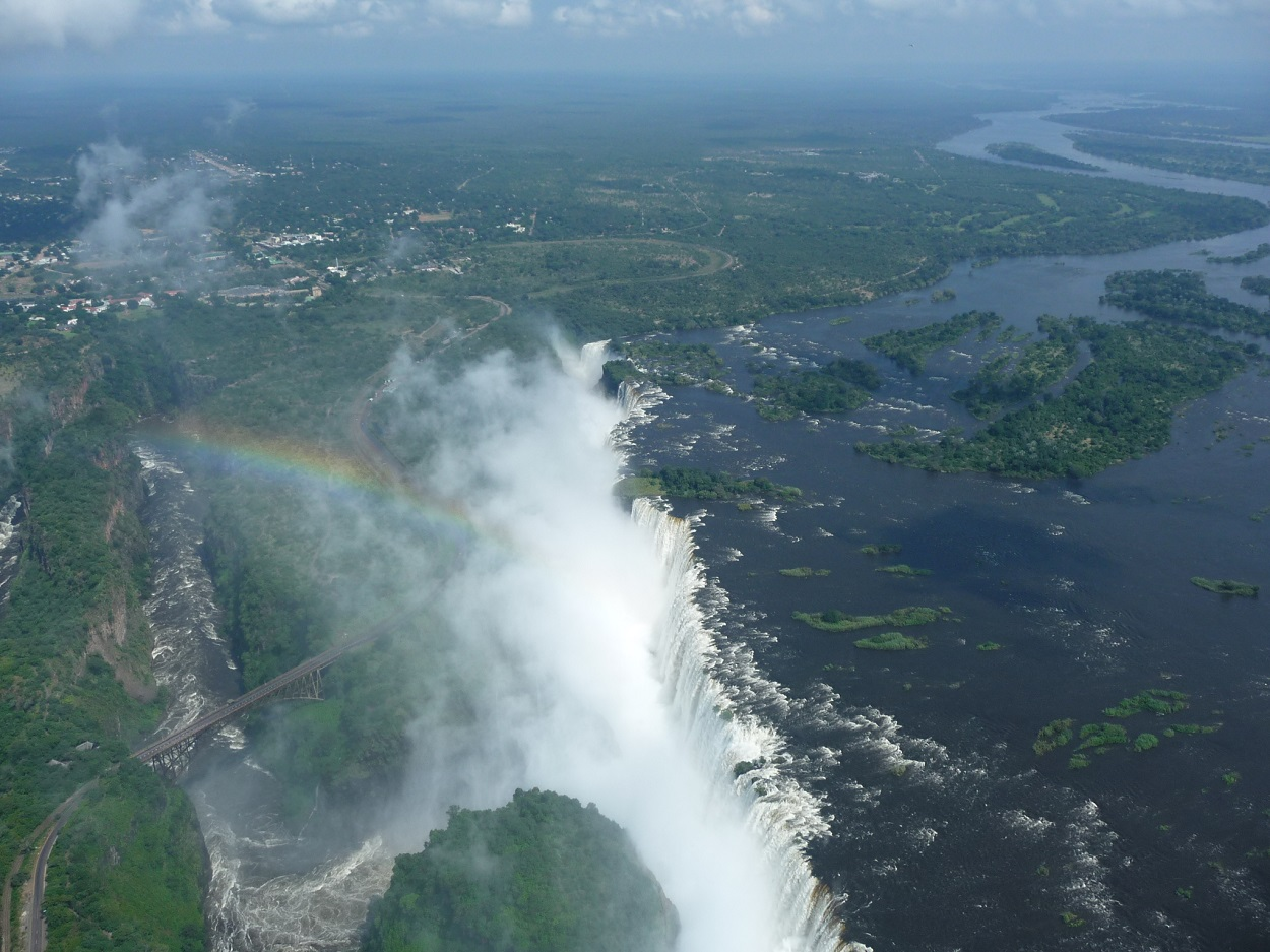 How to choose one ultimate thing to do at Victoria Falls? It's not easy but this was a wow moment!