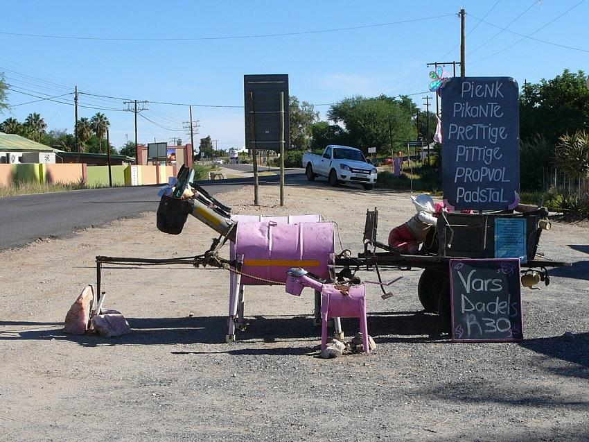 Pink Road Stall, quirky and delightful