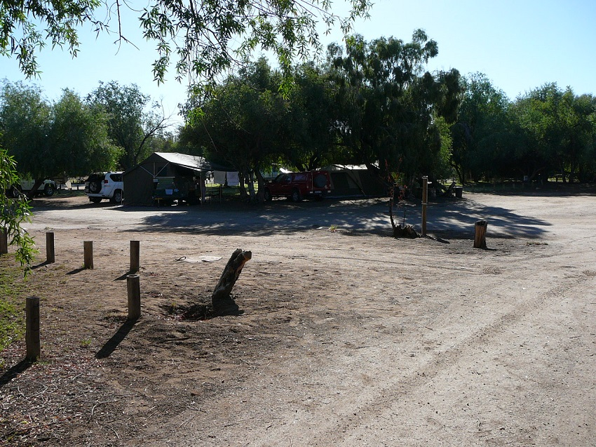 Campsite at Augrabies