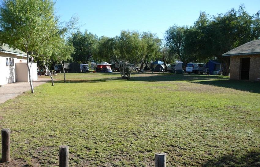 Campsite was quite full