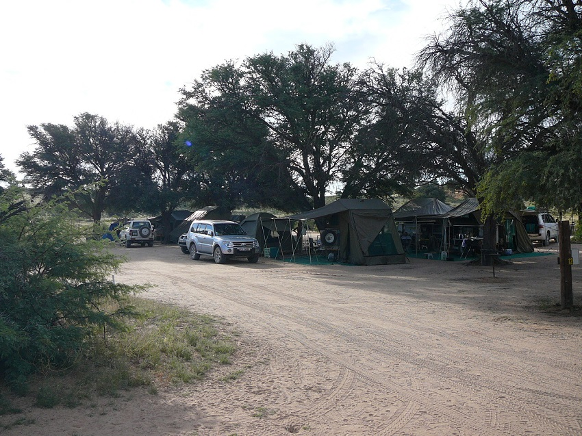 Mata Mata campsite Kgalagadi Transfrontier Park