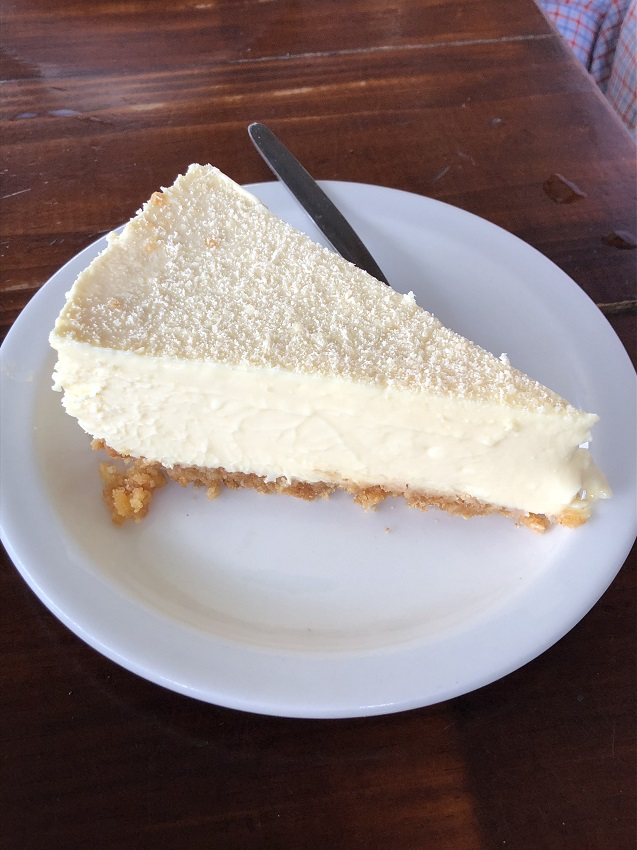 Yum honey cheesecake -
